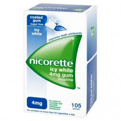NICORETTE ICE MINT 4 MG 105 CHICLES