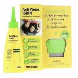 ANTIPIOJOS PACK GEL PEDICULICIDA CON LENDRERA PEDICULICIDA