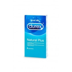 DUREX PRESERVATIVOS NATURAL PLUS 6U