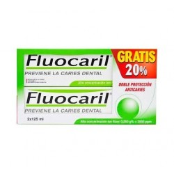 FLUOCARIL BI-FLUORE 125 ML 2 U +REGALO