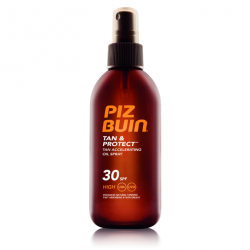PIZ BUIN FPS - 30 PROTECCION MEDIA ACEITE EN SPRAY SOLAR ACELERADOR DE BRONCEADO 150 ML
