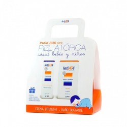 LETI AT4 PACK SOS CREMA INTENSIVA 100 ML + BANO TRATANTE 200 ML