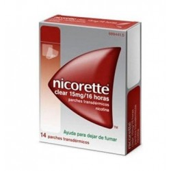 NICORETTE 15 MG/16 H 14 PARCHES TRANSDERMICOS 24.9 MG