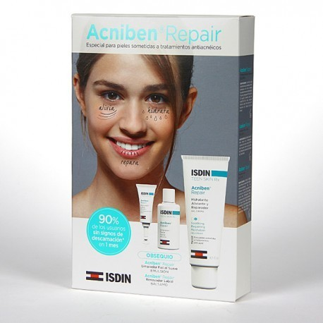 ACNIBEN REPAIR PACK CREMA HIDRATANTE 40ML + MUESTRAS REGALO