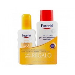 EUCERIN SUN PACK LOCION SPRAY SPF50+ 200 ML + LOCION PH5 200 ML REGALO