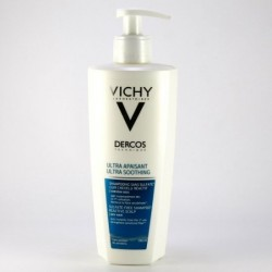 DERCOS TECHNIQUE CHAMPU ULTRA CALMANTE CABELLO SECO O COLOREADO 400 ML
