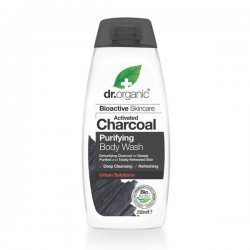 DR ORGANIC CHARCOAL BODY WASH 250ML
