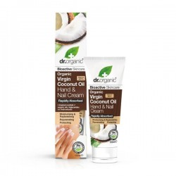 DR ORGANIC VIRGIN COCONUT OIL HAND NAIL CREAM 100ML
