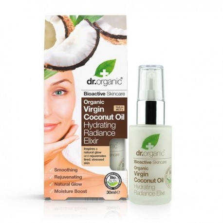 DR ORGANIC VIRGIN COCONUT OIL HYDRATING RADIANCE ELIXIR 30ML