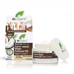 DR ORGANIC VIRGIN COCONUT OIL NIGHT CREAM 50 ML