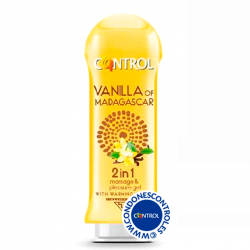 CONTROL VAINILLA OF MADAGASCAR 2 IN 1 MASSAJE & PLEASURE GEL 200 ML