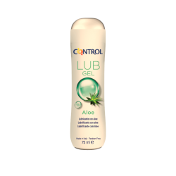 CONTROL GEL LUBRICANTE ALOE 75ML