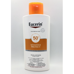 EUCERIN SUN LOCION EXTRA-LIGHT SPF50+ 400 ML + LOCION PH5 200ML REGALO