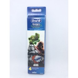 ORAL-B RECAMBIOS CEPILLO DENTAL ELECTRICO INFANTIL STAGES STAR WARS 4U