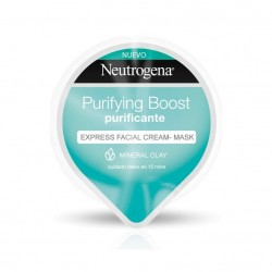 NEUTROGENA PURIFYING BOOST EXPRESS FACIAL CLAY-MASK PURIFICANTE/DETOX 10 ML