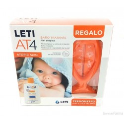 LETI PACK AT-4 BAÑO TRATANTE 200 ML + TERMOMETRO