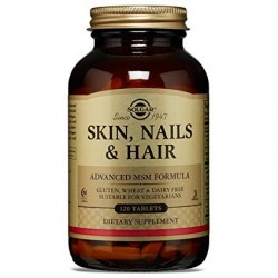 SKIN NAILS AND HAIR SOLGAR 120 COMPRIMIDOS