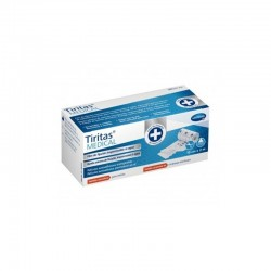 TIRITAS MEDICAL FIJACION IMPERMEABLE AL AGUA 2 M X 10 CM