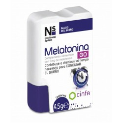 NS MELATONINA GO 1 MG 60 COMPRIMIDOS