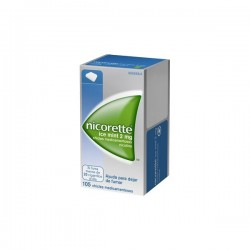 NICORETTE ICE MINT 2 MG 105 CHICLES
