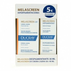 MELASCREEN PACK DESPIGMENTANTE + UV LIGERA 30 ML + 40 ML