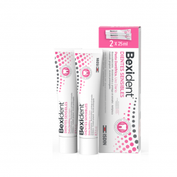 BEXIDENT SMILE&GO DIENTES SENSIBLES PASTA 2 U X 25 ML