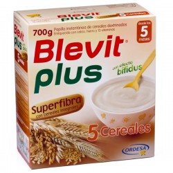BLEVIT PLUS SUPERFIBRA 5 CEREALES 700Gr
