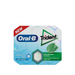 TRIDENT ORAL B CHICLE CLOROFILA 10U