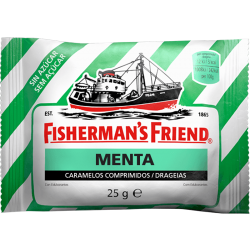FISHERMAN'S FRIEND MENTA SIN AZUCAR VERDE